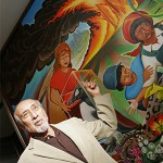 Leo Tanguma defends his murals.