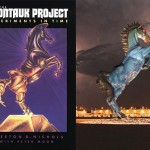The Montauk horse and the DIA Mustang -- WTF?!