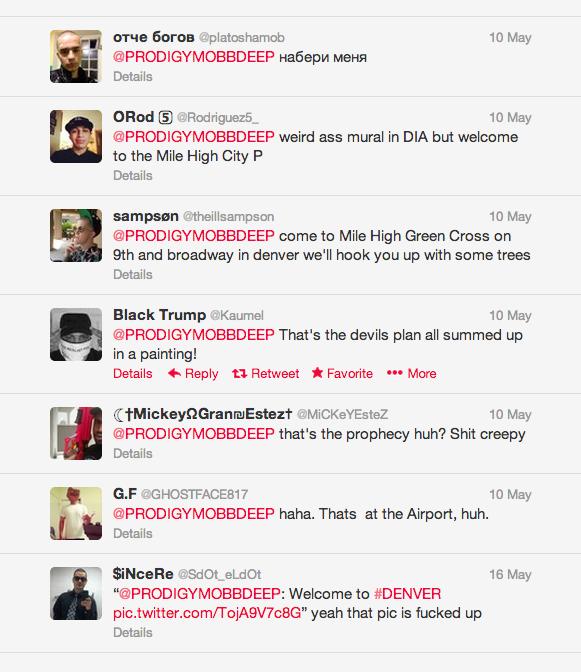 Prodigy Mobb tweet responses